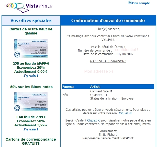 rencontres cartes VistaPrint avis sur les sites de rencontres Internet