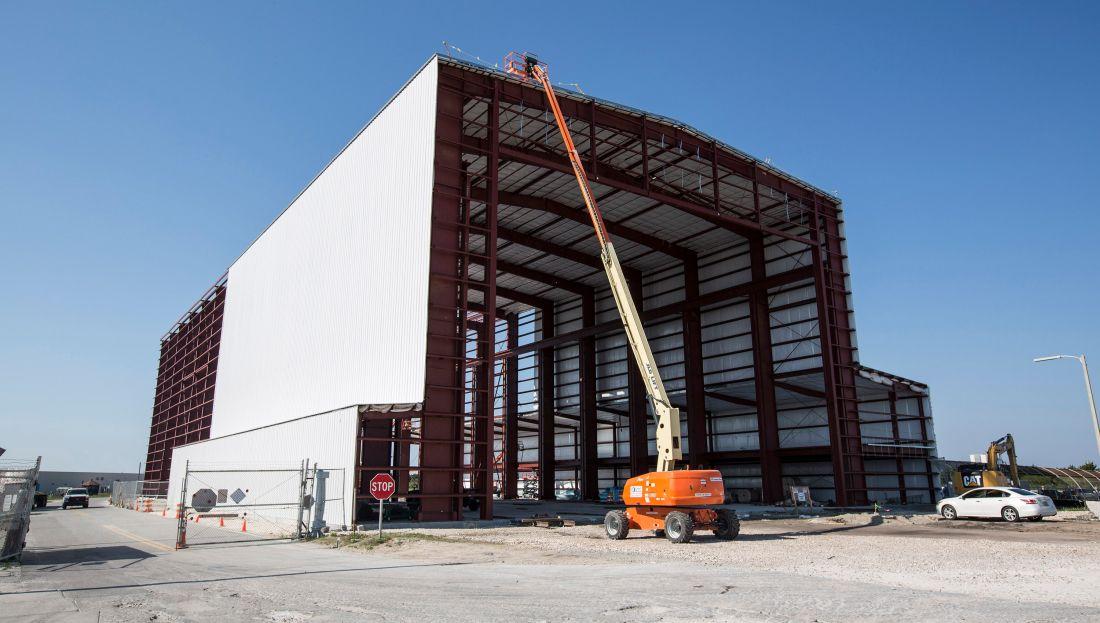 Comment se déploie un hangar démontable 1