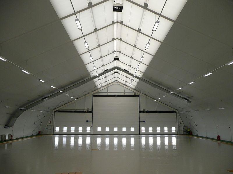 Comment se déploie un hangar démontable 3